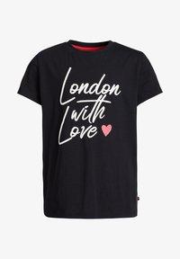 WE Fashion - Camiseta estampada - black - 3