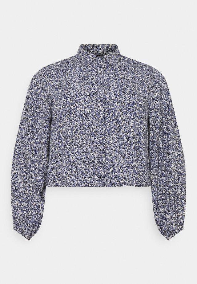 PCDORA - Button-down blouse - sky captain