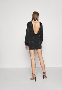 Diesel - D-RENEE-BLING-V2 DRESS - Jersey dress - black - 2