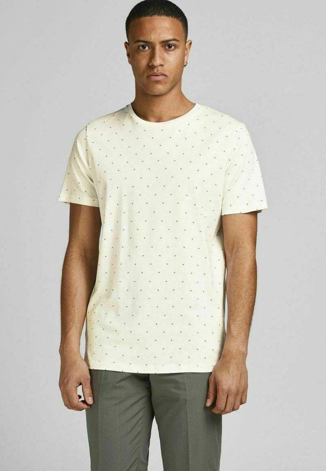 T-shirts print - egret