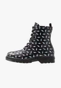 shoeb76 - Šněrovací kotníkové boty - black - 1