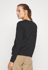 Calvin Klein - CORE LOGO - Bluza - black - 2