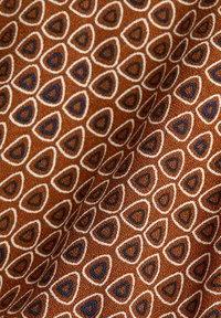 Esprit - LIGHT WOVEN - Vapaa-ajan mekko - rust brown - 7