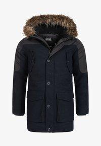 INDICODE JEANS - Winter coat - navy mix - 10