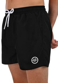 AÉROPOSTALE - Swimming shorts - black - 2