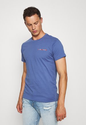 KOLBY - T-shirt med print - gray blue