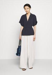 HUGO - CELONA - Button-down blouse - open blue - 1