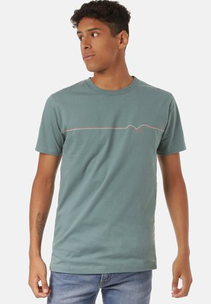 MÖWE LINES - Print T-shirt - north atlantic