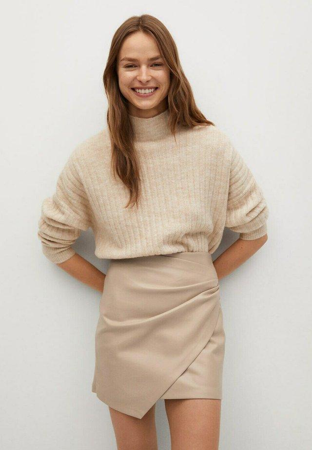 Wrap skirt - gris clair/pastel
