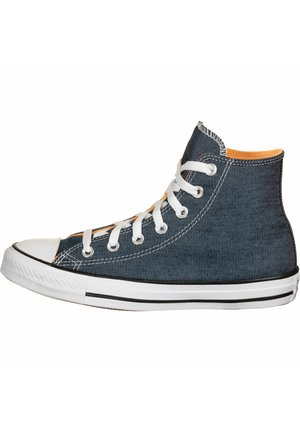 CHUCK TAYLOR ALL STAR HI - Sneakersy wysokie - navy/white