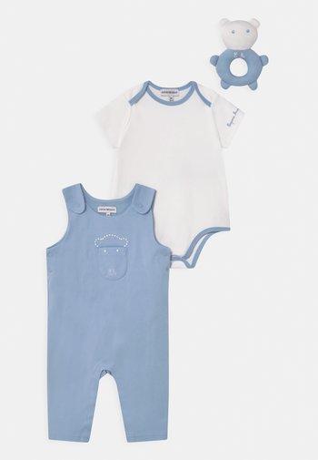 SET UNISEX - Triko spotiskem - light blue