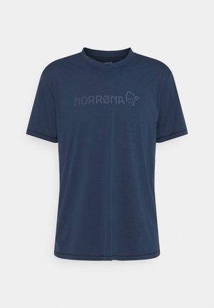 TECH - T-shirt imprimé - indigo night
