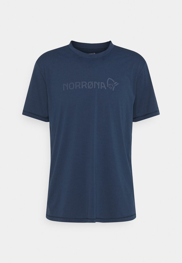 TECH  - Print T-shirt - indigo night