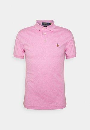 SLIM FIT SOFT COTTON POLO SHIRT - Polo - hampton pink heather