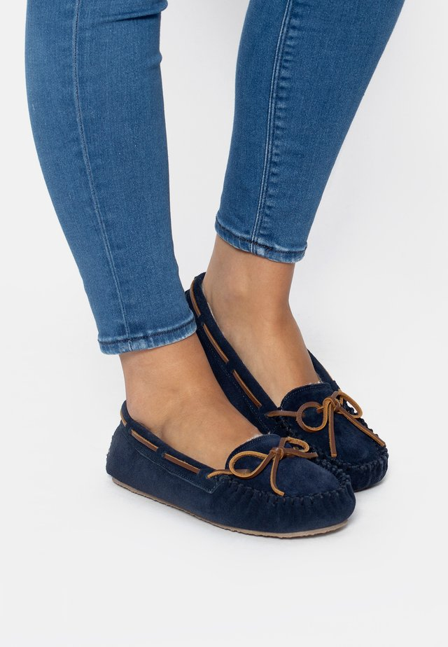 CALLY - Bootschoenen - navy