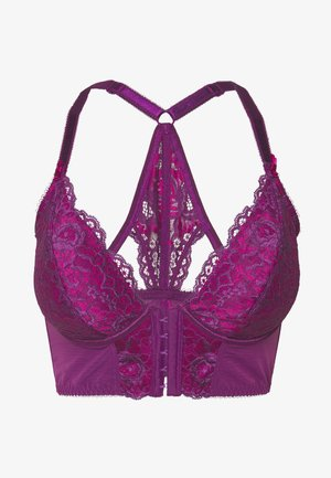 OPULENCE FRONT FASTENING UNDERWIRED - Bøyle-BH - purple