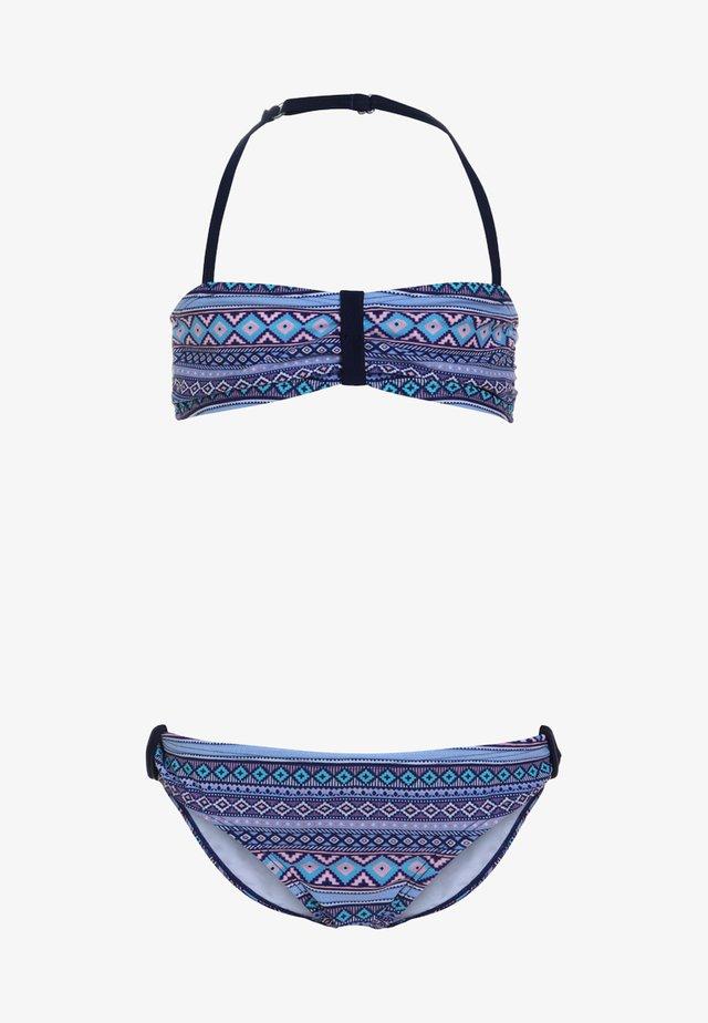 BANDEAU SET - Bikini - blue