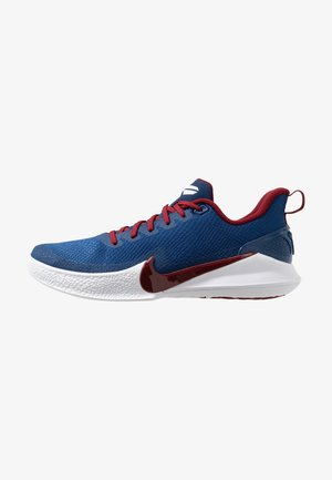 MAMBA FOCUS - Basketball shoes - coastal blue/team red/white