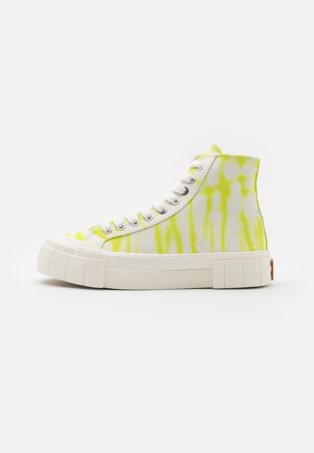 PALM OMBRE UNISEX - Sneakersy wysokie - lime