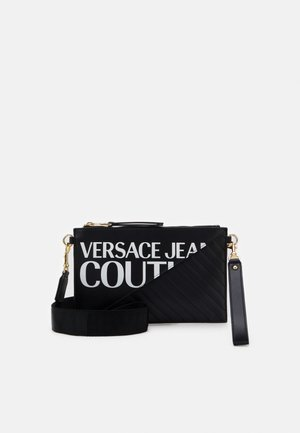 MEDIUM POUCH LOGO - Clutch - nero