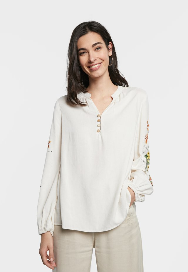 LEILA - Blouse - white