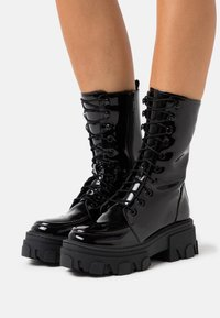 The Kooples - BOTTINE  - Lace-up ankle boots - black - 0