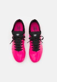 Umbro - VELOCITA VI PREMIER FG - Moulded stud football boots - pink peacock/black/white - 3