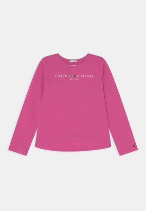 ESSENTIAL TEE - T-shirt à manches longues - vivid fuchsia