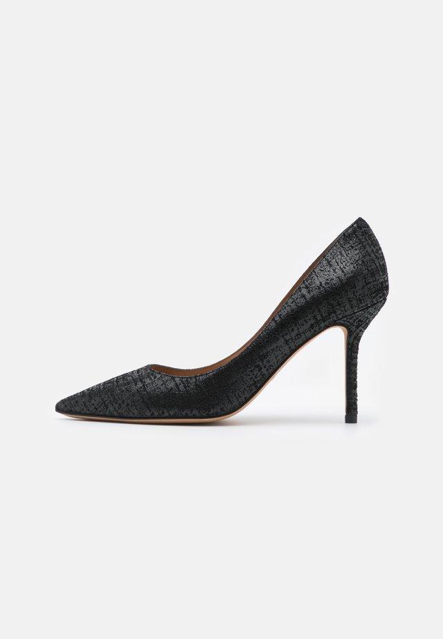 Lodičky na vysokém podpatku - swanky black