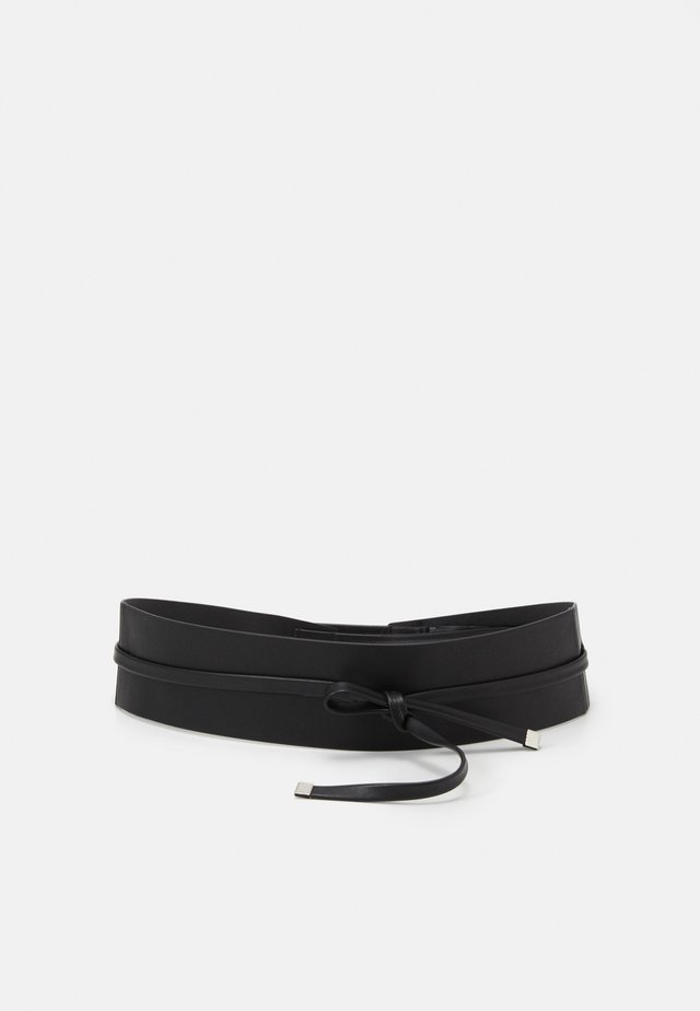 WAISTBAND BELT GENERAL BELTS - Vyö - black
