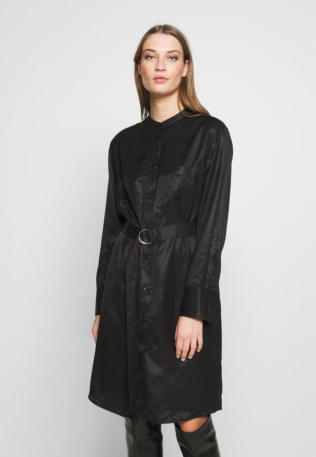 VERA DRESS - Košilové šaty - black