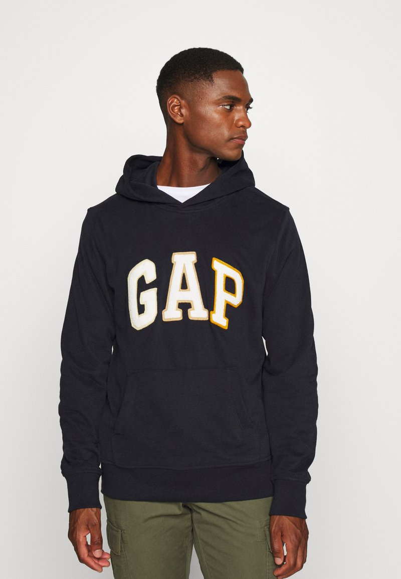 GAP - CHENILLE ARCH - Hoodie - new classic navy