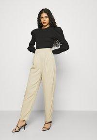 ALIGNE - DAPHNE - Trousers - sand - 4