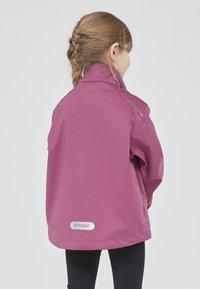 ZIGZAG - Waterproof jacket - 4140 damson - 2