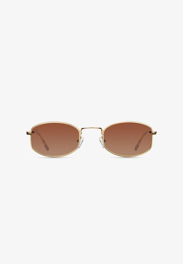SUKU - Sunglasses - gold kakao