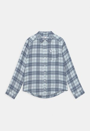 Button-down blouse - trend blue