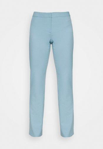 RITZA SKINNY FLARED TROUSER - Pantalones - blue