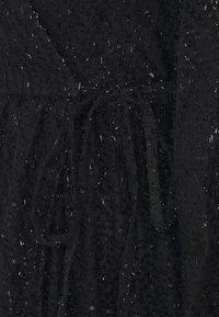 PIECES Tall - PCDWYN WRAP DRESS - Day dress - black - 2