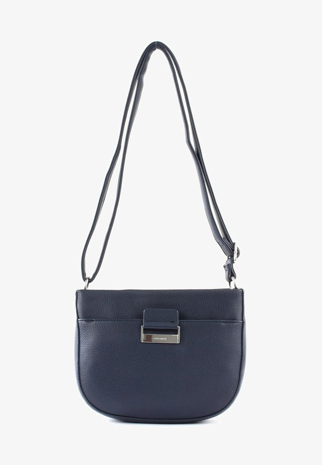 TALK DIFFERENT II - Borsa a tracolla - dark blue