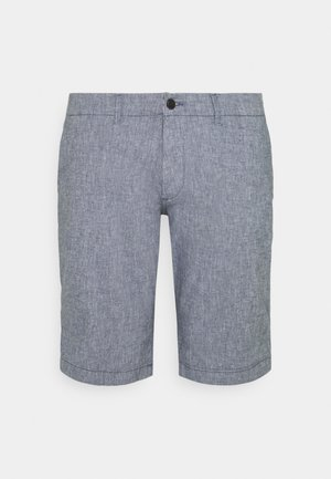 JJIDAVE JJLINEN - Shorts - blue indigo