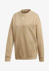 adidas Originals - TREFOIL ESSENTIALS SWEATSHIRT - Sweatshirt - beige - 8