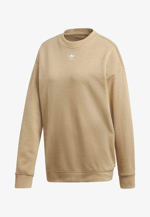 TREFOIL ESSENTIALS SWEATSHIRT - Sweatshirt - beige