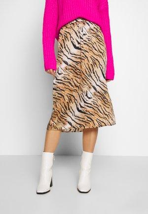 YASTIGERO SKIRT - A-line skirt - black