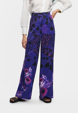 DESIGNED BY M. CHRISTIAN LACROIX: - Trousers - blue