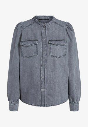 Overhemdblouse - grey denim
