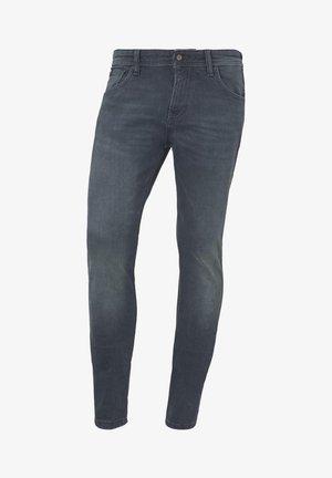 Slim fit jeans - green cast denim
