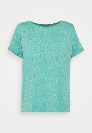 PER COO CLOUDY - Jednoduché triko - teal green