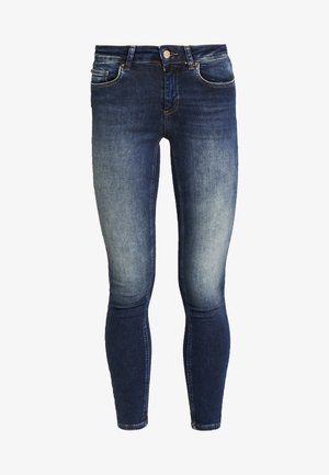 ONLBLUSH - Vaqueros pitillo - dark blue denim