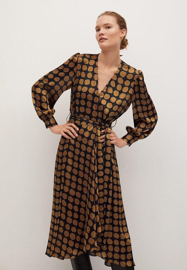SABI - Sukienka letnia - karamel