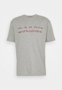 Bally - T-shirt imprimé - grigio melange - 5